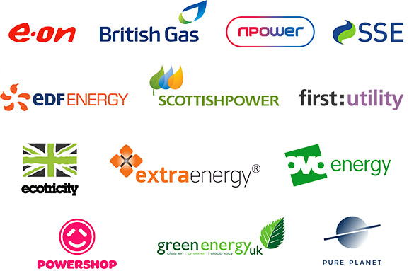 All energy suppliers compared